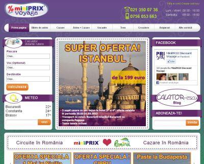 Agentie De Turism Marca Miniprix Trends Hrb